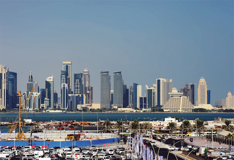Qatar's finance minister denied infrastructure projects would be scaled back in the country.