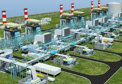 Rabigh 2 combined cycle power plant.
