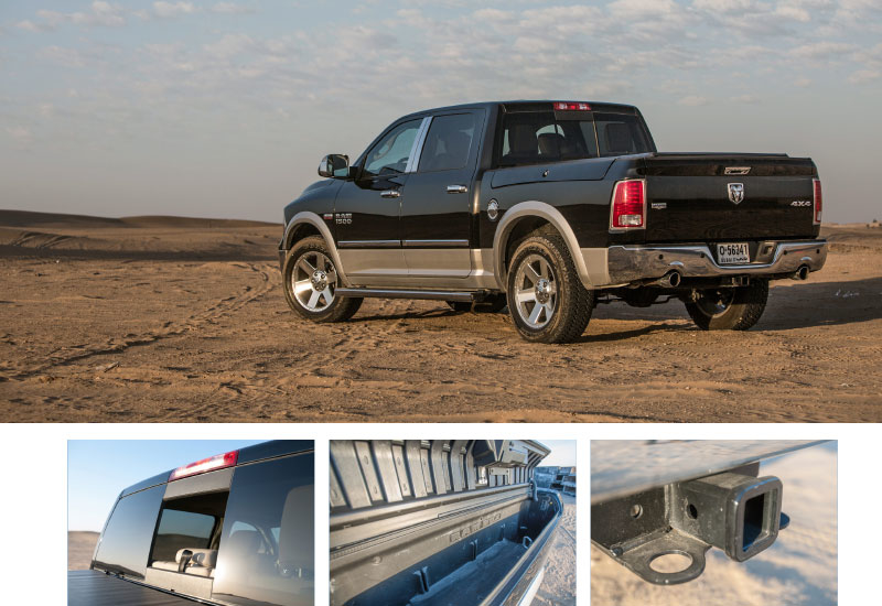 The 1500 boasts ruggedly handsome looks, but its appeal is more than skin deep. The truck is available with features – both standard and optional – th