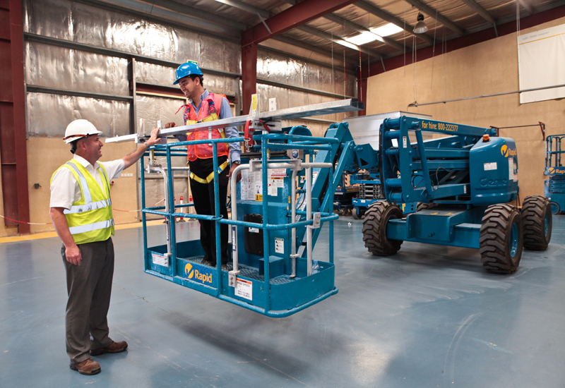 IPAF certified: Rapid Access provides IPAF-accredited courses to train operators to work safely at height.