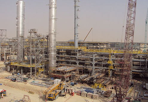 Sadara Chemical Complex project, Saudi Arabia.