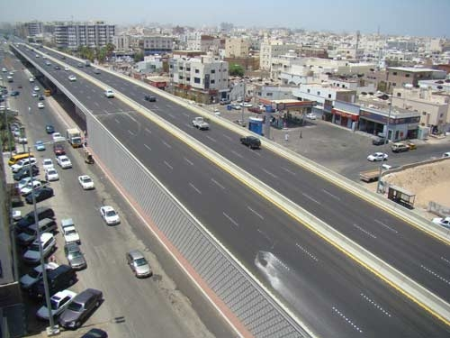 The $24.5m project was developed to ease traffic in Jeddah. [Representational Image/Courtesy: Saudi Gazette]