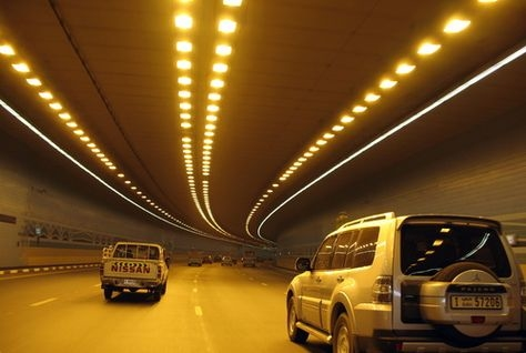 The existing Shindagha Tunnel will be evaluated as part of the project.