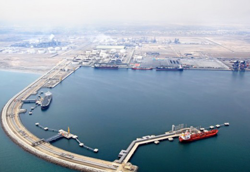 Sohar port.