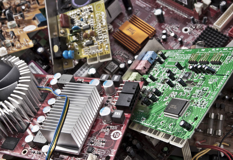 The global waste stream currently stands at 45 million tons of e-waste.
