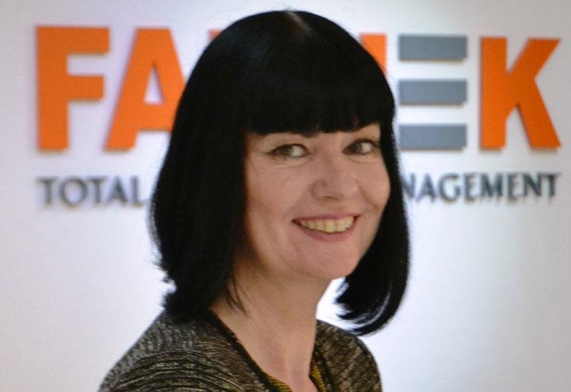 Suzanne Robinson, sales & marketing manager at Farnek.