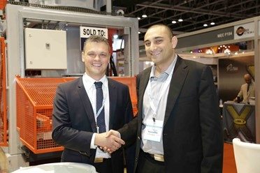 Dariusz Kupidura from Techmatik with Alan Sakr, group GM at Consent.