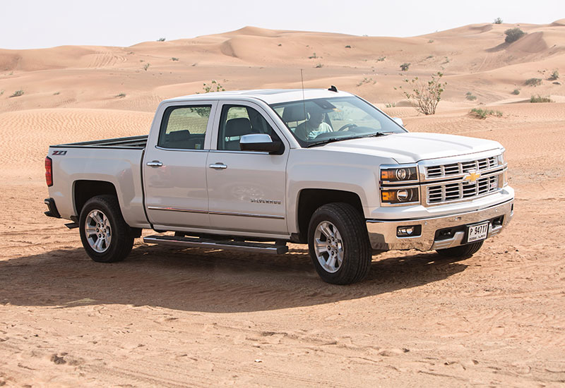 Chevrolet claims the Silverado's 5.3-litre engine will sip through just 10.2 litres of fuel for every 100km.