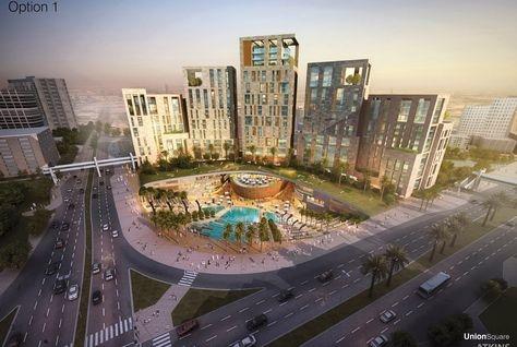 Union Oasis will be Dubai's first transit oriented development. [Image: Arabian Business]