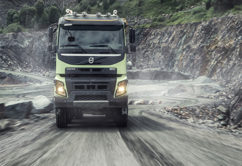 FAMCO's Volvo Trucks line-up for the UAE could be fully telematic within five years.