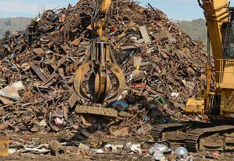 Recycled construction waste is being used for landfill in Qatar.
