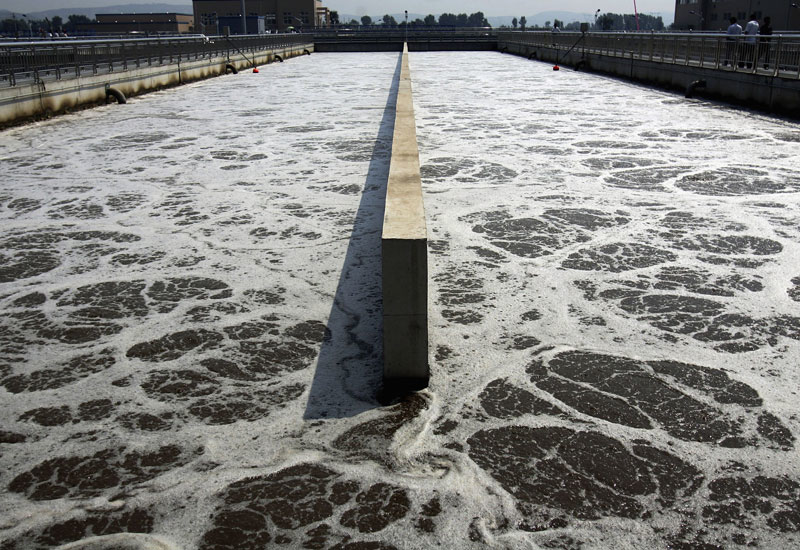 Bahrain invested in a number of sewage projects in 2013.