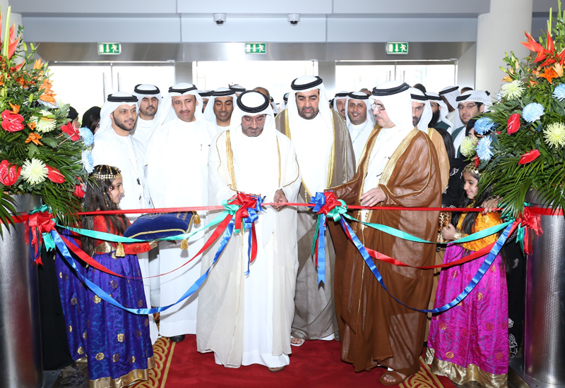 HH Sheikh Ahmed bin Saeed Al Maktoum, chairman of the Dubai Supreme Council of Energy (DSCE) officially opens WETEX 2014.