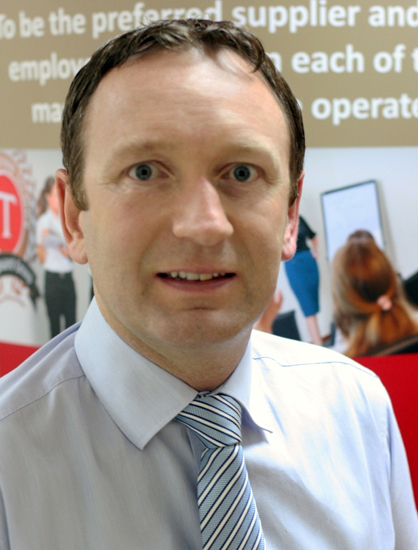 William Moroney, chief sales & marketing officer of Transguard Group