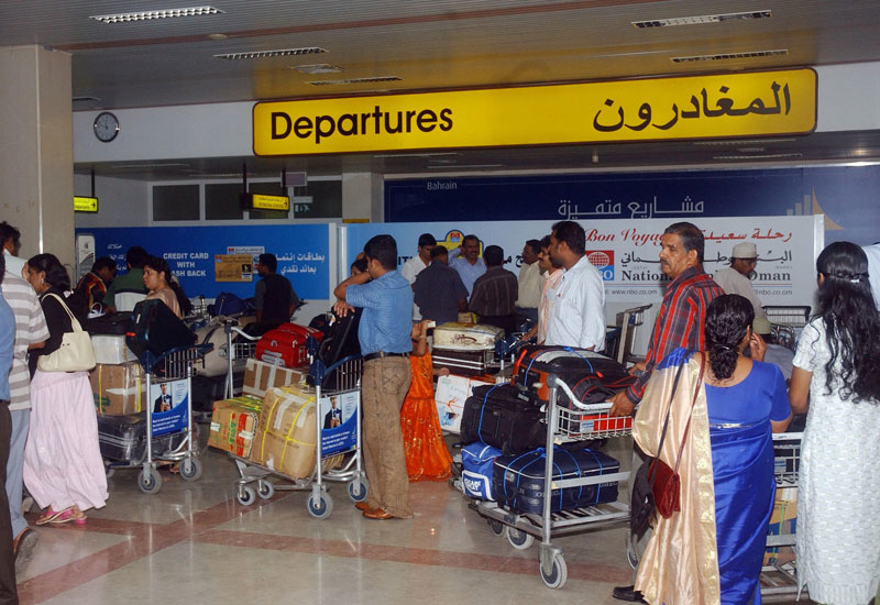 NEWS, Projects, Muscat, Muscat airport, Oman, Strike, Workers
