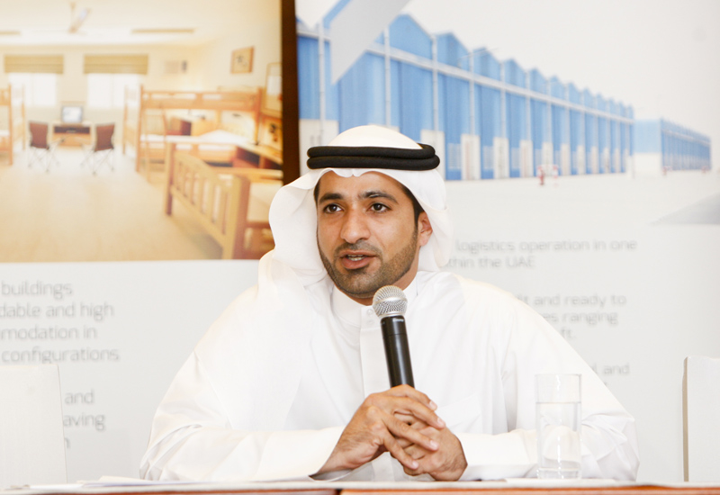 Abdullah Belhoul, MD for Dubai Industrial City