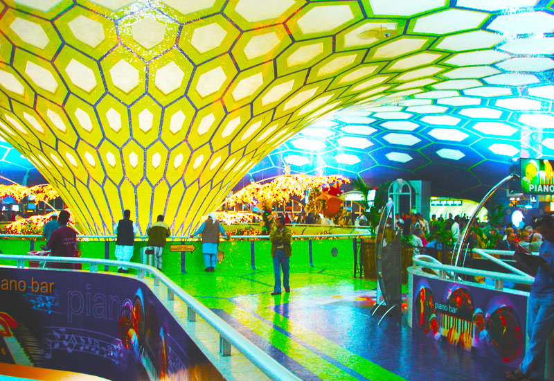 The four-star experience at the psychedelic Abu Dhabi International Airport will soon be epitomised by the $3.2bn Midfield terminal.