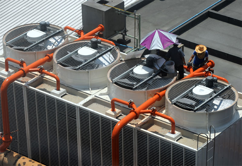 The Univsersity of California, Davis, challenge saw Trane design a rooftop air-conditioning system (Image for illustrative purposes)