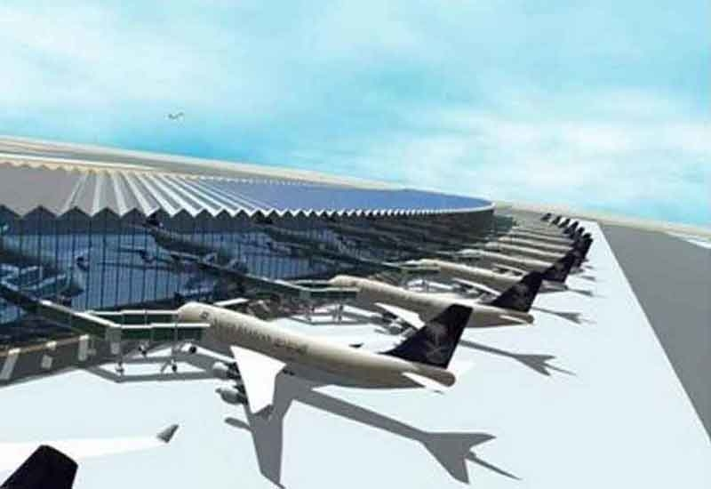 The upgrade will involve building a new terminal as well as the world's largest airport control tower.