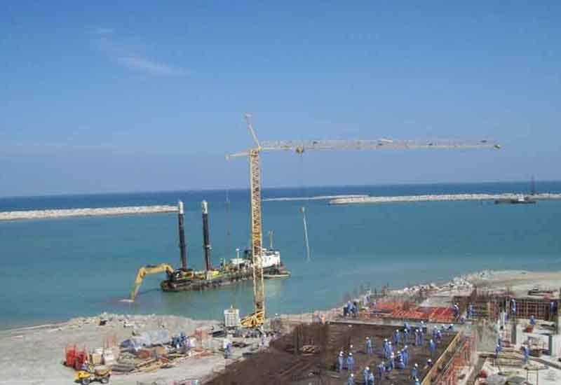 The Halayanit Island project was one of several contracts won by Galfar last year.