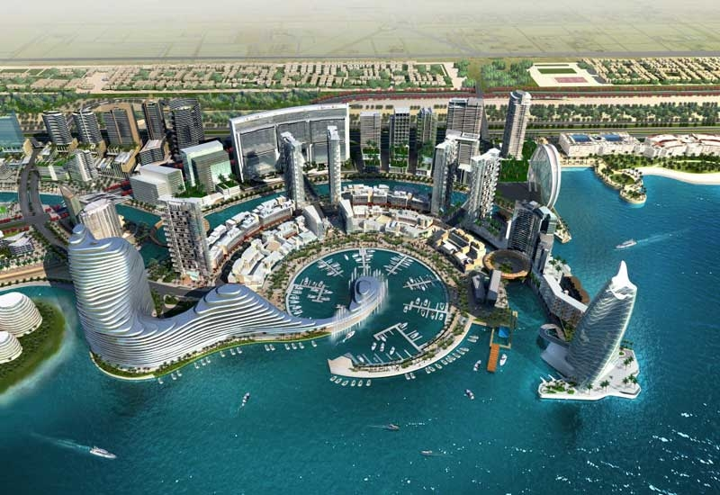 Al Bandar, within Al Raha, was completed earlier this year.