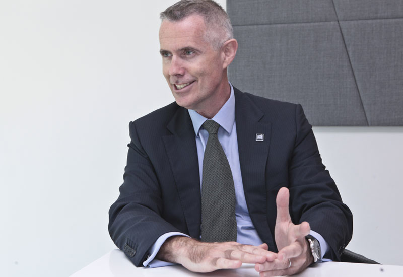 Middle East managing director Alan McCready