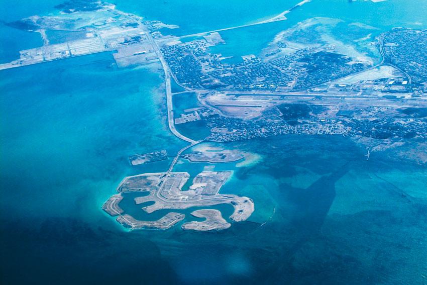 Amwaj Islands in Bahrain