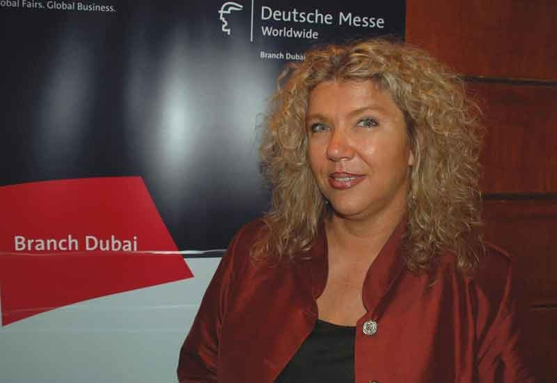 Angela Schaschen, managing director, Deutsche Messe Dubai Branch.