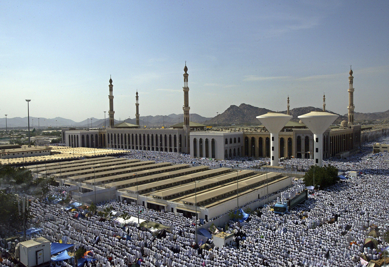 India's Oyo Hotels has partered with Saudi Arabia's Ministry of Hajj and Umrah [image: Makkah].