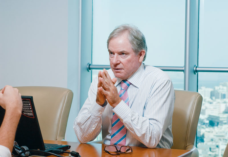 Bob Vincent, CEO Bahrain Bay