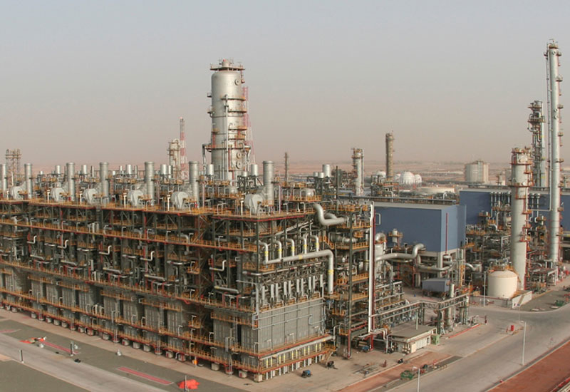 The new ethane cracker at Borouge's Abu Dhabi plant.