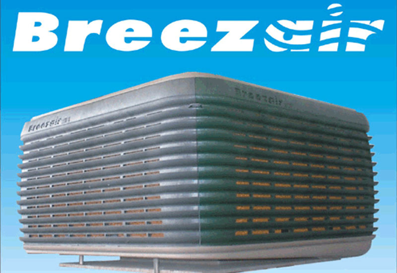 Evaporative cooling to provide a breeze of fresh air in the UAE.