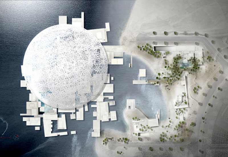 The Louvre, Abu Dhabi is one of Buro Happold's flagship projects.