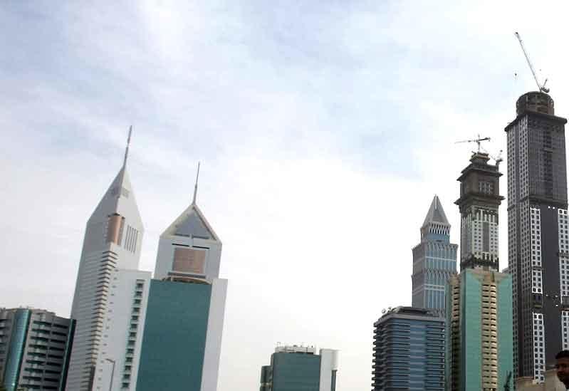 Business Bay in November 2009. Photo: Karim Sahib/AFP/Getty Images.