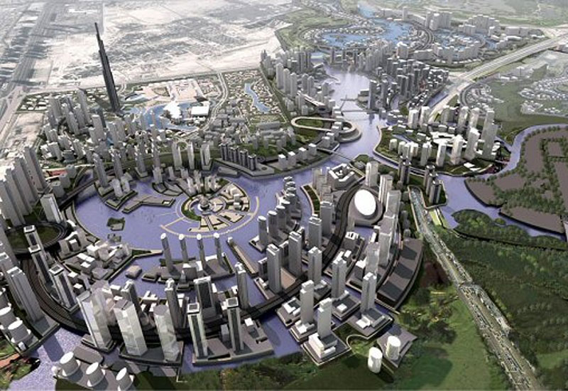 Cluster Complex forms part of Dubai's Business Bay.