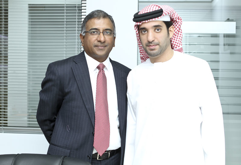 Sekhar Reddy and Senan Al Naboodah.