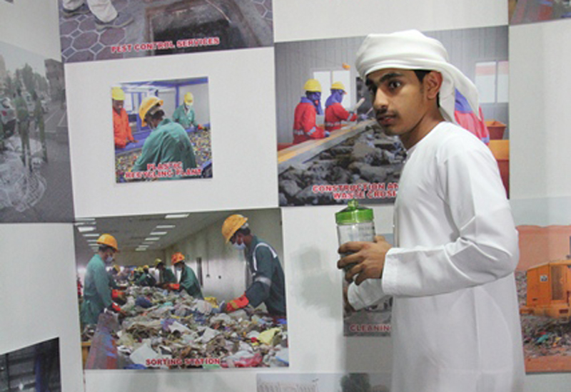 Raising awareness about best practice in waste management is the aim of the CWM.