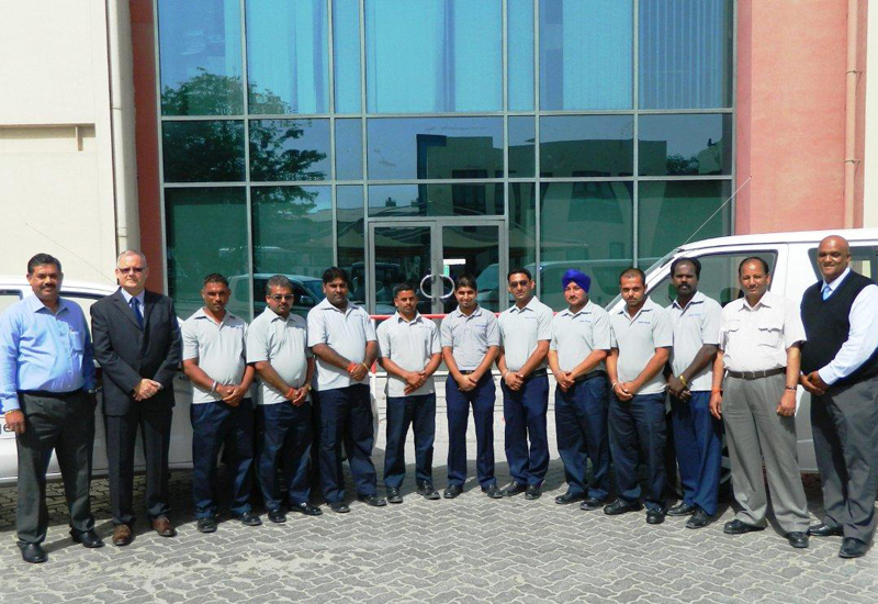 (L-R) Hirantha G Attyagalle, Keith Elmer, Rajendra Singh, Dharmendar Singh, Tej Pratap Singh, Razab Ali, Kulbinder Singh, Sukhjinder Singh, Gurjeet Si