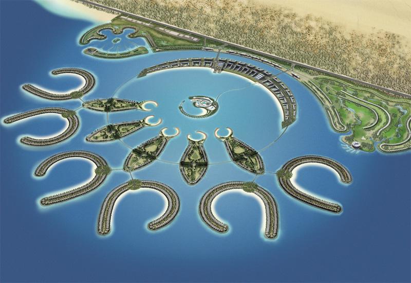 A rendering of Durrat Al Bahrain.
