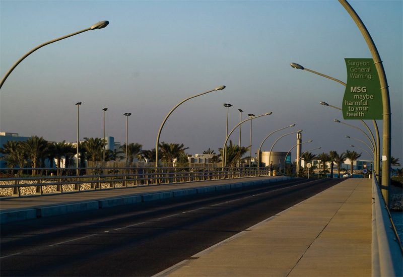 Murray & Roberts expertise was used for the bridges.