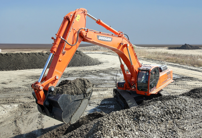 The two crawler excavators are the latest in the LCA range.