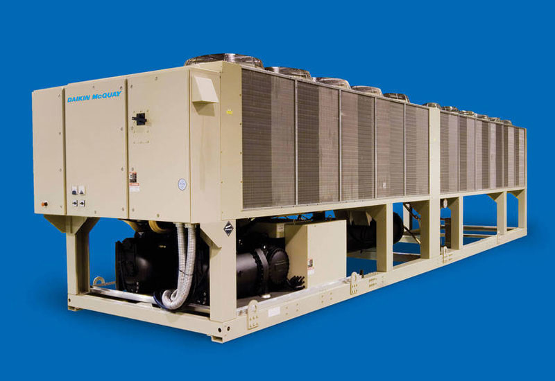 An example of a chiller from Daikin.