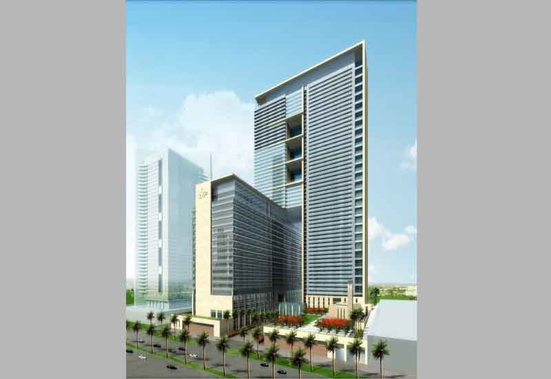 The project is located in the Dubai International Financial Centre and will be comprised of three towers.