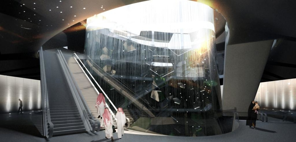 In Pictures: Riyadh Metro station designs