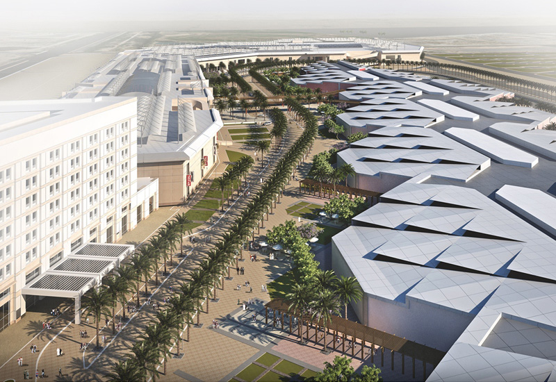 The total size of the development with phase 2 complete will rise to 34 hectares, complete with a Geant hypermarket and Grand cinemas.
