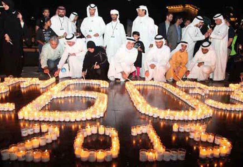 Earth Hour 2013 in Dubai showed saving success.