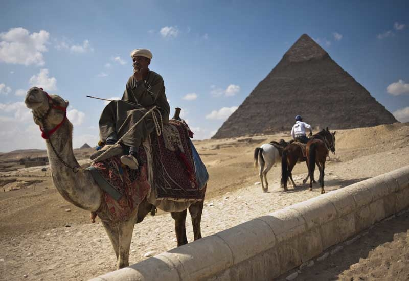 The Egyptian Grand Museum will be located overlooking the country's world famous Grand Pyramids