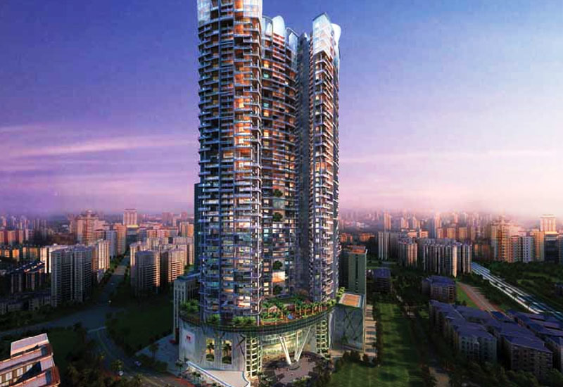 The $400m One Avighna Park in Mumbai.
