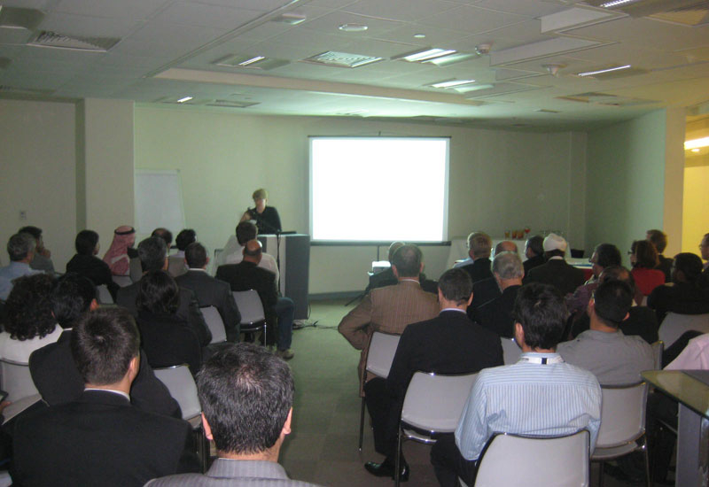 The inaugural networking event of 2011.