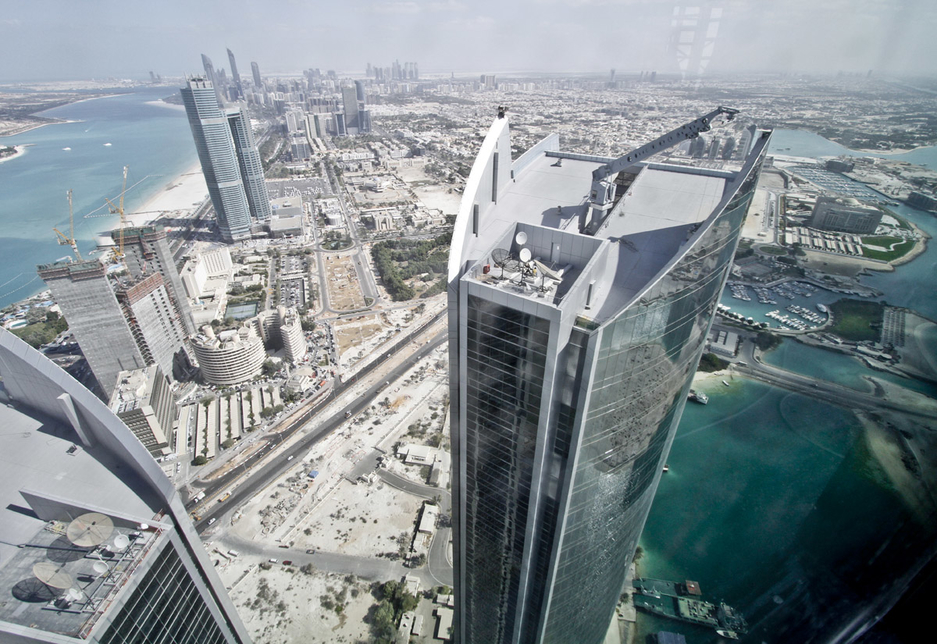 Contracting for building projects was the most licensed activity in Abu Dhabi over the past 30 days [representational image].